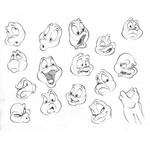 Character Design Expression Chart : Bill waldman animation